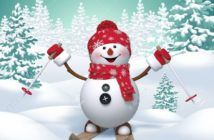 32940276-skiing-snowman-3d-christmas-cartoon-character-winter-landscape