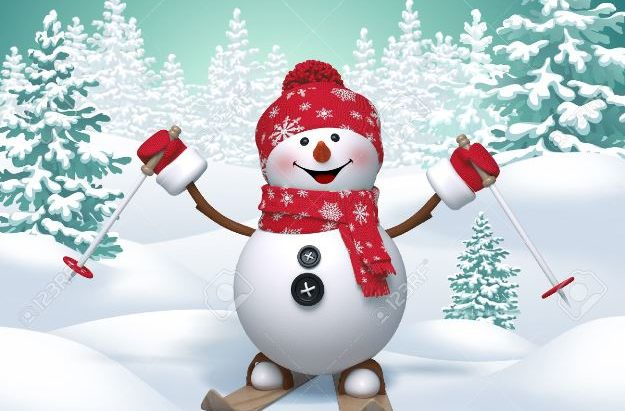 32940276-skiing-snowman-3d-christmas-cartoon-character-winter-landscape