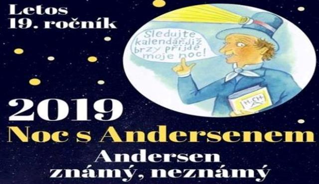 29. 3. 2019 Noc s Andersenem 2019