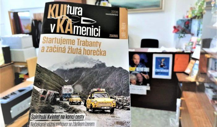 Nové vydání časopisu Kulka plné rozhovorů je online!