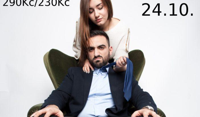 24/10 Stand up Tigrana Hovakimyana – Muži o Ženách