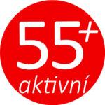 """Logo """"55+aktivní"""""""
