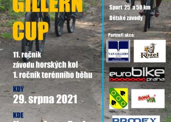Van Gillern cup a běh plakát - 2021